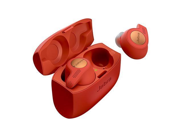 Jabra Elite Active 65t - Red True Wireless Sport Earbuds Copper Red