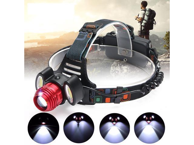 15000LM LED Rechargeable Headlight Flashlight Torch 3x T6 Headlamp Lamp