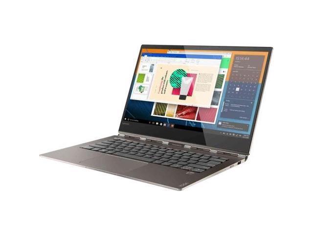 "Lenovo Yoga 920 2-in-1 Laptop - Intel Core i7 8th Gen 8550U (1.80 GHz) 8 GB Memory 256 GB SSD 13.9"" Windows 10 Home - Bronze"