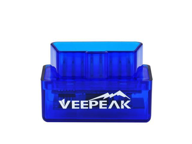 Veepeak Mini Bluetooth OBD2 OBD II Scanner Car Engine Trouble Code Reader Android Diagnostic Scan Tool for 1996 and Newer Vehicles in the US