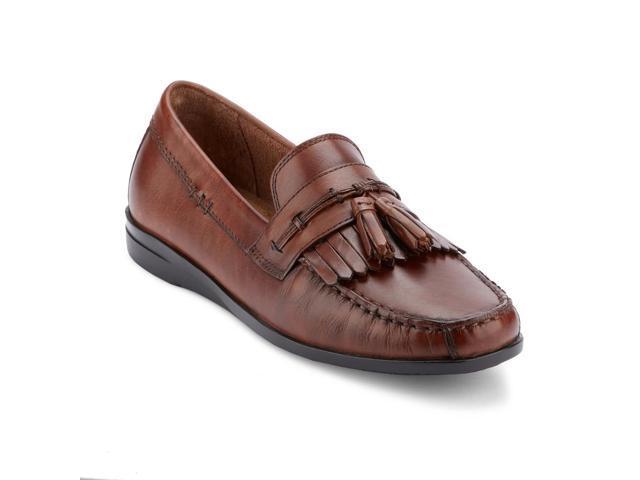 Dockers Mens Freestone Leather Dress Casual Tassel Loafer Shoe