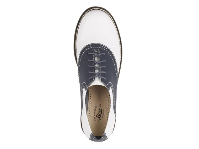 1e7c58d4f9f7 G.H. Bass   Co. Womens Dora Leather Saddle Oxford Shoe – NeweggFlash.com