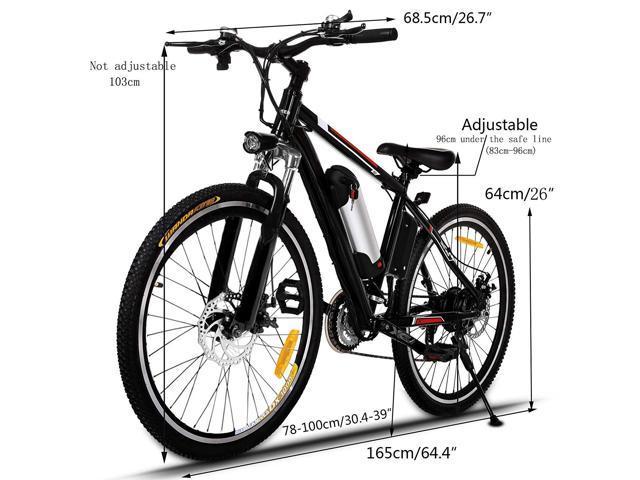 Electric Mountain Bike, 700c/25 inch wheel size