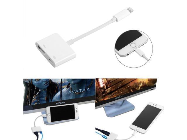 Lightning Digital AV Adapter to To High-Definition Multimedia Interface For Apple
