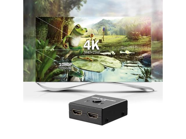 2x1 1x2 Ultra 4K Bi Direction HD Multimedia Interface 2.0 Switch Switcher Hub HDCP 3D 1080p