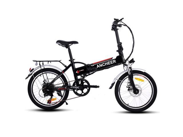 18.7 inch Wheel Aluminum Alloy Frame Folding Mountain Bike Cycling Bicycle White