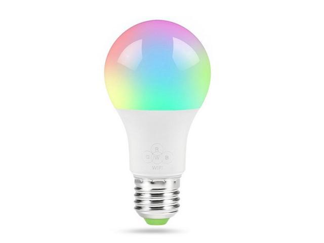 Wireless WiFi Colorful LED Smart Bulb Voice Control Lamp For Alexa and Google