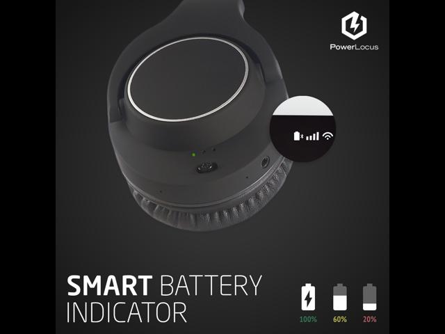 PowerLocus Ptouch Wireless Bluetooth Headphones Over Ear