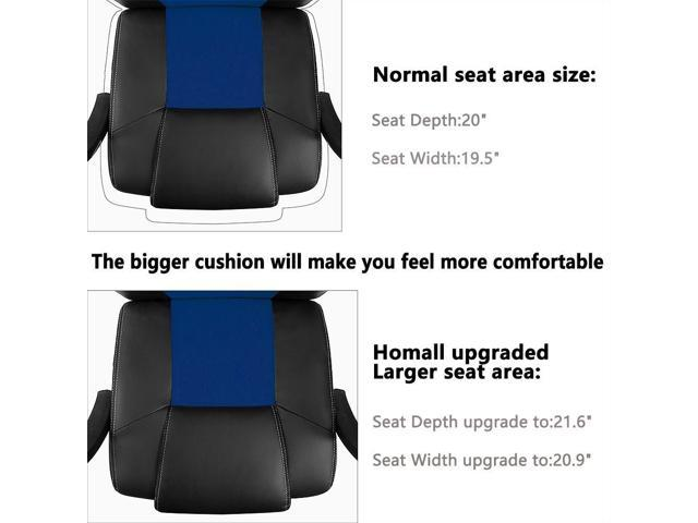 Homall Gaming Office Chair With Big Size Cushion Racing
