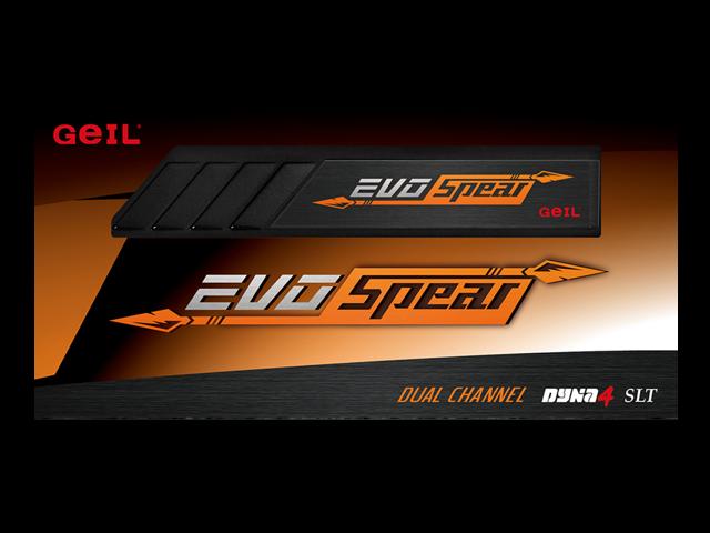 GeIL EVO SPEAR 16GB (2x8GB) 288-Pin DDR4 SDRAM DDR4 2400 (PC4 19200) Desktop Memory Model GSB416GB2400C17DC