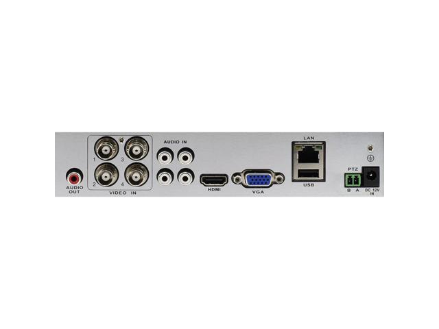 DVR4-1600 - 4 Channel 720p Digital Video Recorder & 2 x PRO-T835 Cameras