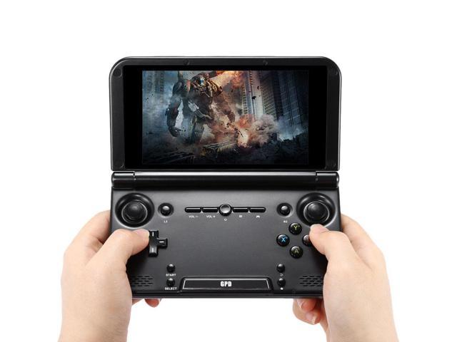 Original GPD XD Plus 5 Inches 4GB/32 GB MTK 8176 Hexa-core Handheld Game Console Mobile Game Laptop - Black/Professional Android Handheld Mobile Game Console