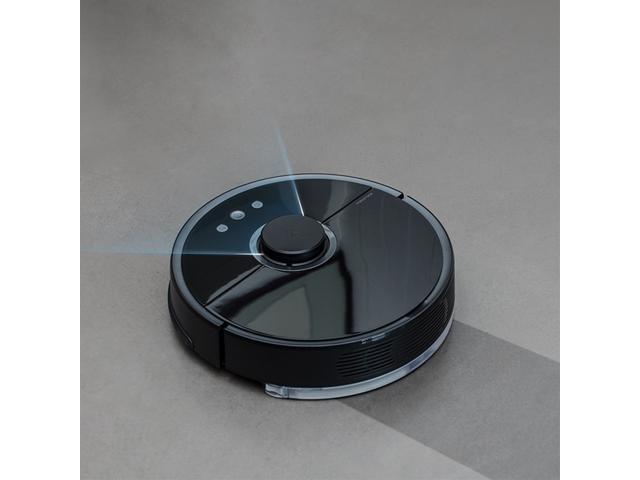 Roborock S55 Smart Robot Vacuum Second Generation Cleaner 2-in-1 Sweep Mop LDS Bumper SLAM 2000Pa Suction 5200mAh Battery international Version (EU Plug )