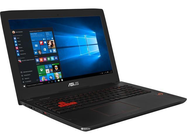 "ASUS ROG Strix GL502VS-UH71 15.6"" Gaming VR Ready Intel Core i7 (2.60 GHz) NVIDIA GeForce GTX 1070 16GB RAM 256GB SSD + 1TB HDD Windows 10 Home 64-Bit"