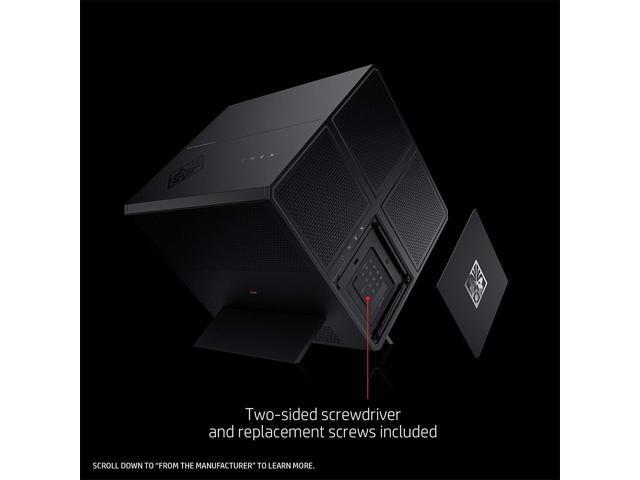 HP Gaming Desktop OMEN X 900-030 Intel Core i7-6700K 16 GB DDR4 2 TB HDD 256 GB NVMe SSD NVIDIA GeForce GTX 1080 8 GB GDDR5X Windows 10 Home 64-Bit