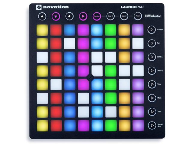 Novation LAUNCHPAD S MK2 MKII MIDI USB RGB Controller Pad+Studio Mic+Shock Mount