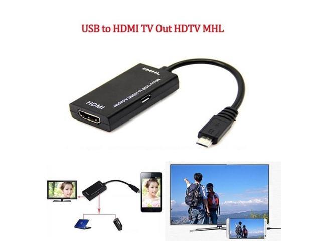 gocomma MHL Adapter Micro USB to HDMI Cable for Phone Tablet
