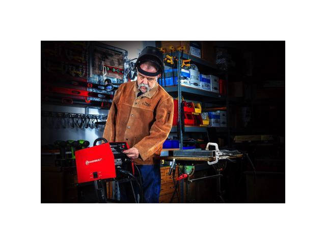 Powerbuilt 125A Portable IGBT Inverter Wire Feed MIG Flux Welder - 240131