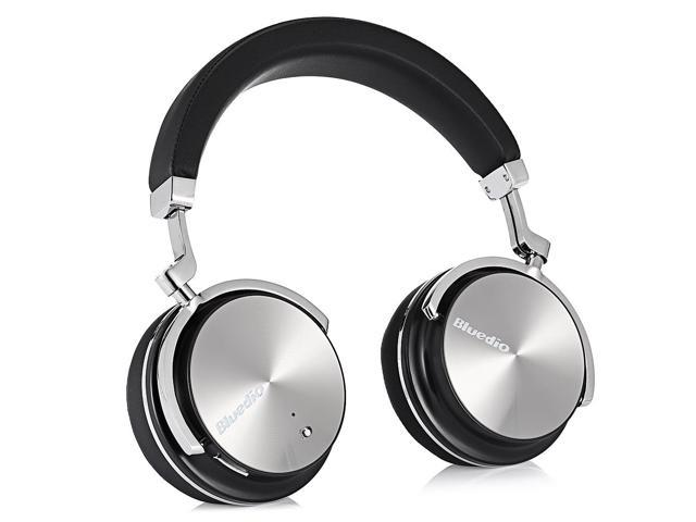 Bluedio T4S Active Noise Cancelling Over-ear Swiveling Wireless Bluetooth Headphones with Mic