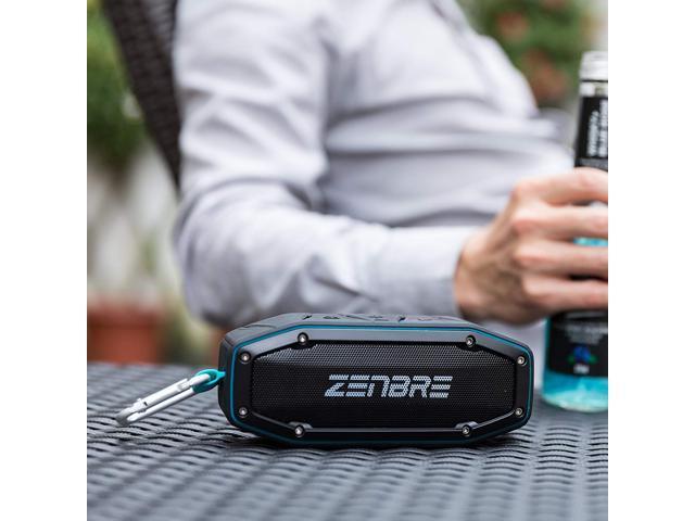 ZENBRE D6 IPX6 Waterproof Portable Speakers (Blue)