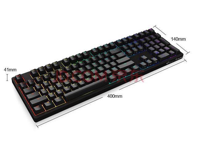 Ducky 3108s Full RGB USB N-Key Rollover Mechanical Gaming Keyboard - Cherry MX Brown