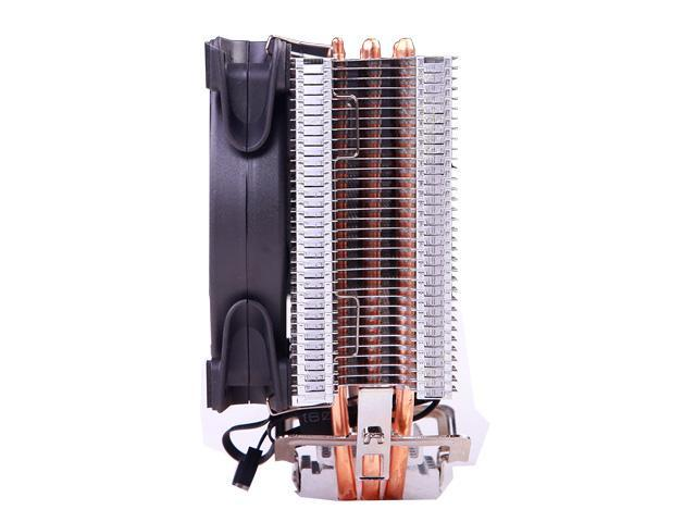 PCCOOLER CORONA GI-X3B CPU Cooler with 120mm PWM Fan  SilentPro Blades design with Corona  LED Frame