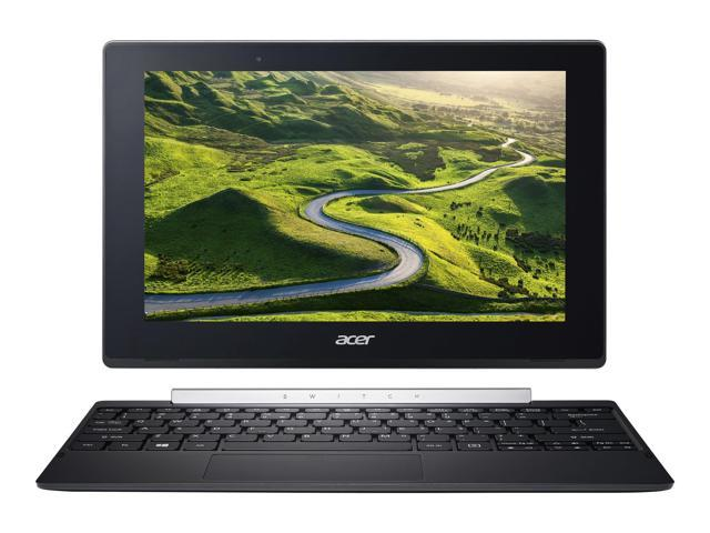 "Acer Switch V 10 SW5-017P-17JJ 10.1"" Touchscreen LCD 2 in 1 Netbook - Intel Atom x5 x5-Z8350 Quad-core (4 Core) 1.44 GHz - 4 GB DDR3L SDRAM - 64 GB Flash Memory - Windows 10 Pro 64-bit - 1280 x 800 -"