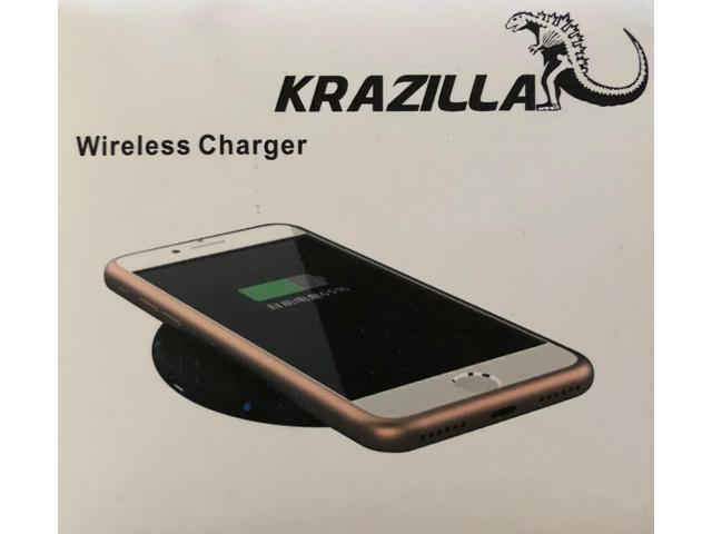 New Krazilla KZP-C06 Wireless Charger 5V 2A 6mm Micro USB Cable - Black