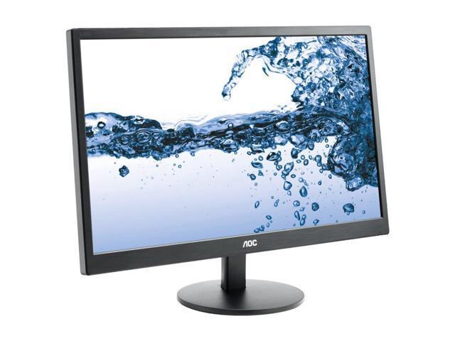 """Refurbished: AOC E2270SWHN 21.5"""" LED backlit LCD Full HD 1920x1080 Display HDMI, VGA"""