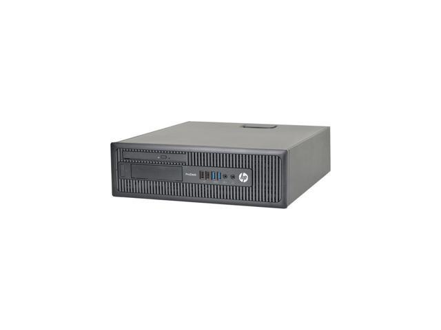 Refurbished: HP Desktop Computer ProDesk 600 G1 Small Form Factor SFF Intel Core i5 4th Gen 4570 3.20 GHz 8 GB 500 GB HDD DVD Windows 10 Pro 64-Bit Bundled USB Wi-Fi Dongle