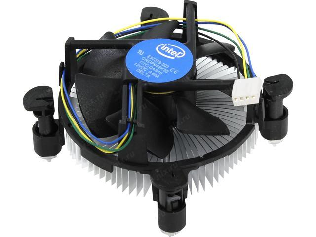 Intel E97379-003 Core i3/i5/i7 CPU Cooler Socket 1156/1155/1150 4 Pin Aluminum Heat sink Fan 5 Year Warranty