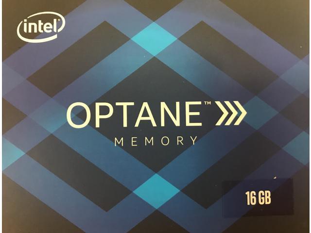 Intel Optane M.2 2280 16GB PCIe NVMe 3.0 x2 Memory Module/System Accelerator