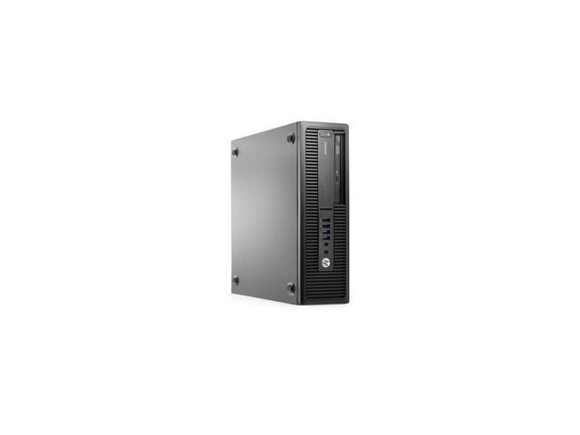 Refurbished: HP Desktop Computer EliteDesk 800 G1 Small Form Factor SFF Intel Core 4th Gen i5-4690 3.5 GHz 8GB DDR3 500GB HDD DVD Windows 10 Pro 64 Bit 2 Year Warranty - OEM