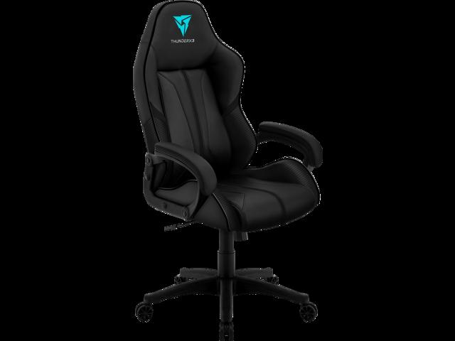 ThunderX3 BC1 Office Gaming Chair - AIR Tech, Ergonomic Design, Premium Leatherette (Black) - OEM