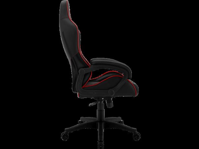 ThunderX3 BC1 Office Gaming Chair - AIR Tech, Ergonomic Design, Premium Leatherette (Black/Red)