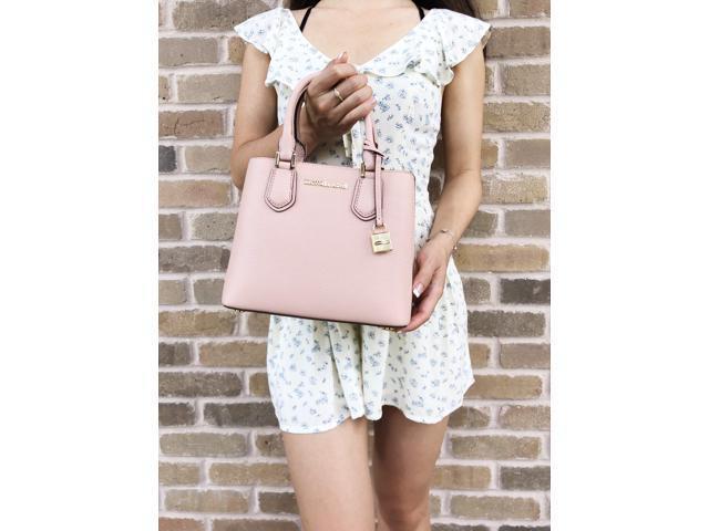 35a1058a4d37 Michael Kors Adele Mercer Medium Messenger Bag Pastel Pink ...