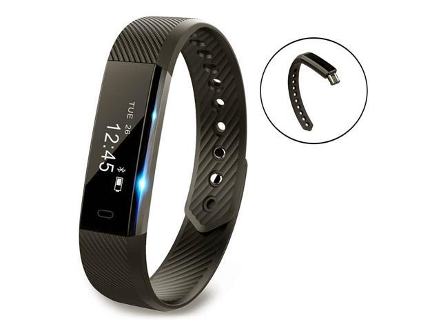 Muzili Fitness Tracker ,YG3 Activity Tracker Water Resistant with Sleep Monitor, Bluetooth Smart Wristband Bracelet Sport Pedometer Fitness Watch Step Tracker/Calorie Counter for Android & iOS