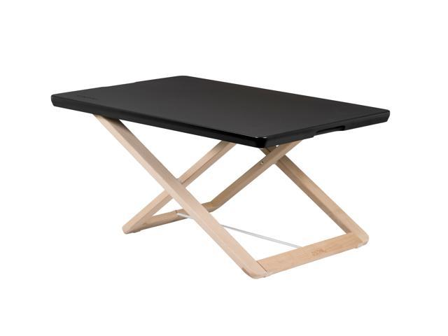Freedesk Adjustable Desk Riser Compact, black. 39 x 15,3 inch, only 6,6 Ibs.