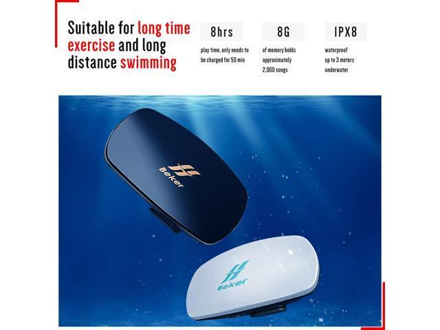 bec71d100326 BEKER Underwater MP3 Player Swimming