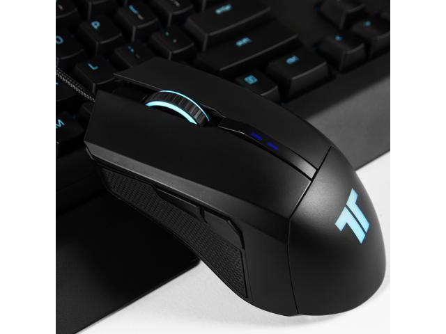 TRITTON TM200 Gaming Mouse with Side Buttons, RGB Breathing Light Gaming Mice Ergonomic High-Precision PC Gaming Mouse, Auto Sleeping for MAC/Laptop/PC/Notebook