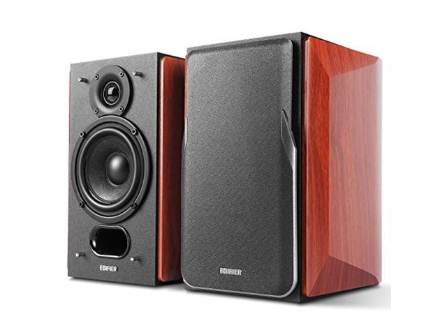 Edifier P17 Passive Bookshelf Speakers - 2-way Speakers with Built-in Wall-Mount Bracket - Perfect for 5.1, 7.1 or 11.1 side / rear surround setup - Pair