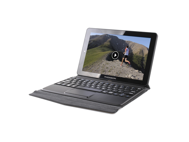 """THOMSON HERO9 2-in-1 Tablet PC 8.9"""" / MOBILE OFFICE FOR FREE/ Intel® Atom™  / Windows 10 / Magnetic Sleeve (Serves as a Stand)  / 1GB Ram / 32GB eMMC /  Touchpanel / Keyboard with Multi-touch Pad"""