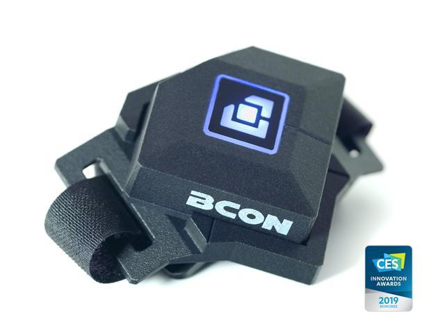 Bcon Gaming Wearable Series 1 - full-precision PC core-gaming motion controller for increased performance - complement mouse+keyboard - world innovation - CES Innovation Award 2019 - America-exclusive - OEM