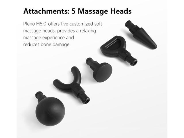 Pleno Handheld Deep Tissue Massage Gun Whole Body Massager Rechargeable
