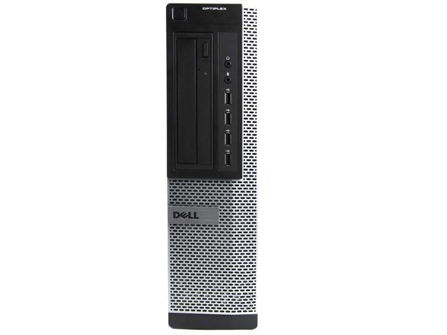 Refurbished: Dell Black Optiplex 9010 Desktop Intel 3rd Gen i5-3470 (3.2 GHz) 16GB 2TB Intel HD Graphics DVD-ROM Win 10 Home