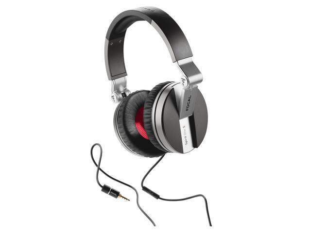 Focal Spirit One S Closed Back Circum-Aural Over-Ear Headphones (Silver)