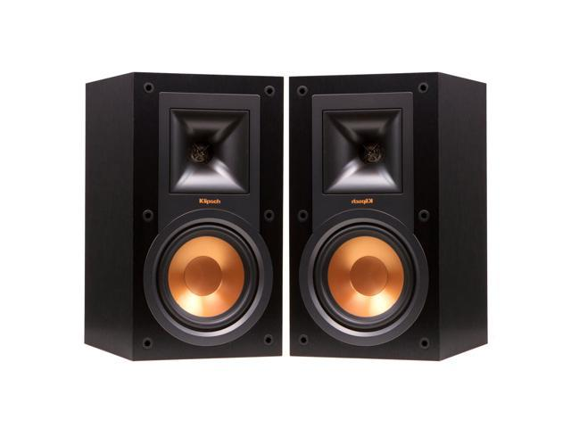 Klipsch R-15M Reference Bookshelf Monitor Speakers - Pair (Black)