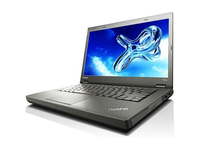 "Refurbished: Lenovo ThinkPad T440p Intel i5 Dual Core 2600 MHz 500Gig Serial ATA 4GB DVD-RW 14.0"" WideScreen LCD Windows 10 Professional 64 Bit Laptop Notebook"