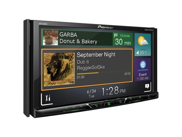"""Pioneer AVH-600EX Multimedia DVD Receiver with 7"""" WVGA Display, Built-in Bluetooth, HD Radio Tuner, SiriusXM-Ready and AppRadio Mode"""