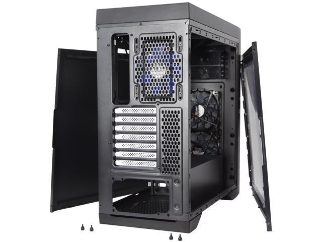 VIVO Titan ATX Mid Tower Computer Enthusiast Gaming PC Case, Window, 5 Fan Mount (CASE-V05)